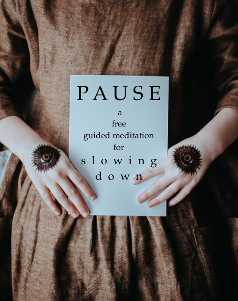 Free Guided Meditation for SlowingDown