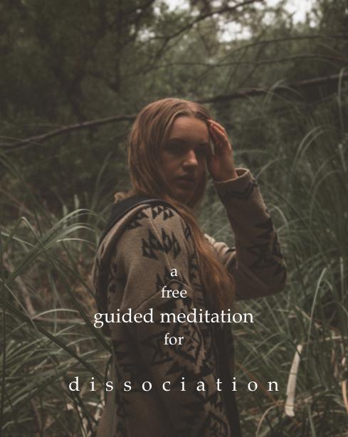 Free Guided Meditation forDissociation