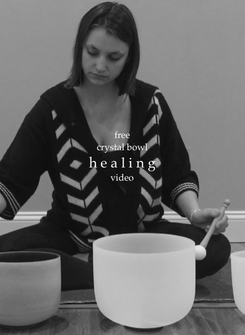 Free Healing Crystal Bowl Session with NatalieCorr