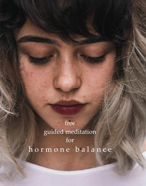 Free Guided Meditation for HormoneBalance